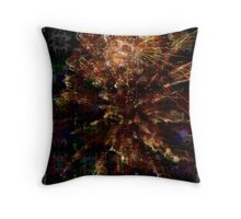 Boiling Bubbles Throw Pillow