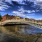 Ha'penny Bridge by Paulo Nuno