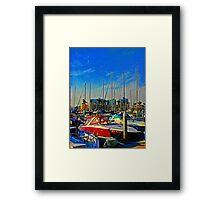 Marina Del Ray Framed Print