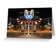 Chase Field Figure Expanded Greeting Card