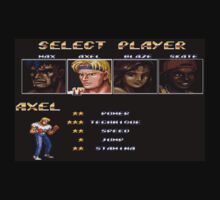 Streets of Rage 2 – Select Axel Kids Clothes