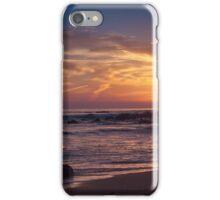 Sunset along the coast iPhone Case/Skin