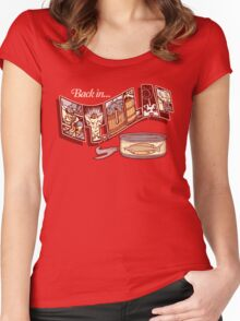 Back in St. Olaf Women's Fitted Scoop T-Shirt