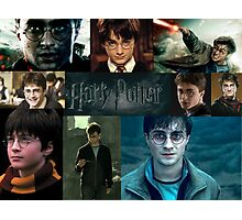 Harry Potter Collage HD Photographic Print