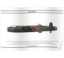 Lancaster GB 7 Squadron 1 Poster