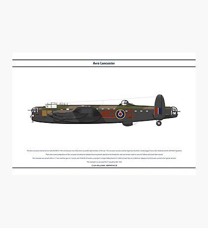 Lancaster GB 7 Squadron 1 Photographic Print