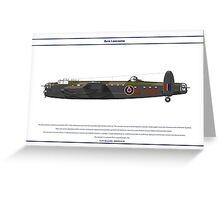 Lancaster GB 12 Squadron 1 Greeting Card