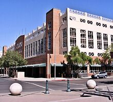 Chase Field Parking Building by KLPhair
