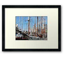 Tall Ships at Liverpool Framed Print