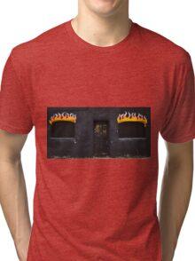 Facade of Fire  Tri-blend T-Shirt
