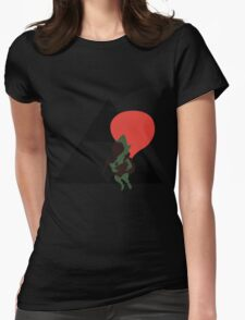 Tingle - Sunset Shores Womens Fitted T-Shirt