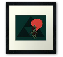 Tingle - Sunset Shores Framed Print