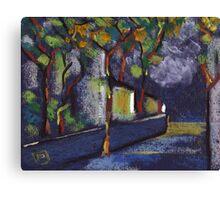 A street in spain Canvas Print