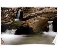 Duddon Valley Waterfall Poster