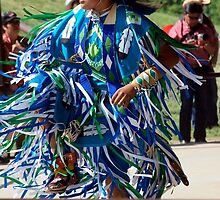 Native North American Dancer by ldredge