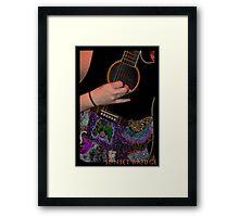 gracie grieshop, sunsetbridge Framed Print