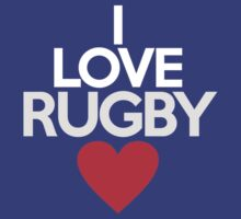 I love rugby by onebaretree