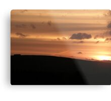 vibrant sunset Metal Print