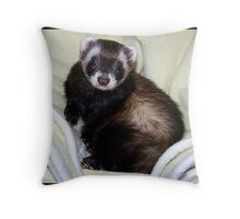 I Iz A Fweet Boy Throw Pillow