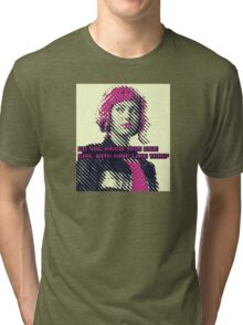 Ramona Flowers - Do you know this one girl with hair like this Tri-blend T-Shirt