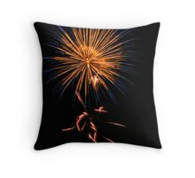 Fireworks rebirth 2008 Throw Pillow