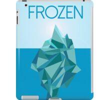 Frozen  Minimalist Movie Poster iPad Case/Skin