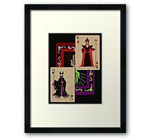 Voodoo Villains-Twin Sorcerers Framed Print