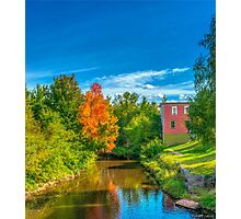 A Touch of Fall Photographic Print