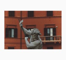 Neptune and the Dove - Fountain of Neptune, Piazza Navona, Rome, Italy Kids Clothes