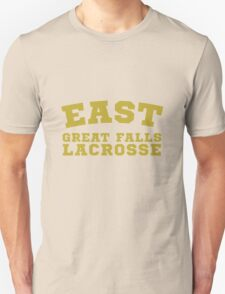 EAST GREAT FALLS LACROSSE Unisex T-Shirt