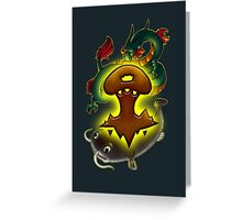 Ancient Beasts! Greeting Card