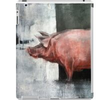I'm Pink, Therefore I'm Ham iPad Case/Skin