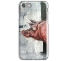 I'm Pink, Therefore I'm Ham iPhone Case/Skin