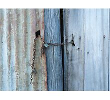 Locked Out Photographic Print