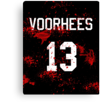 Jason Voorhees Jersey Canvas Print