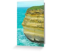 The Face of Stone Greeting Card