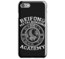 Beifong Metalbending Academy - White & Silver iPhone Case/Skin