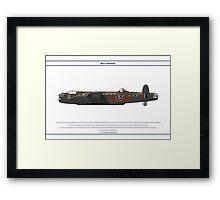 Lancaster GB 75 Squadron 1 Framed Print