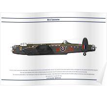 Lancaster GB 75 Squadron 1 Poster