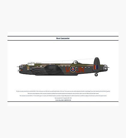 Lancaster GB 75 Squadron 1 Photographic Print