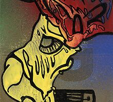 red skull by burne rich