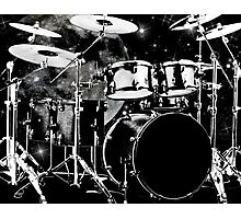 Drummers do it better Photographic Print