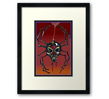 The Black Widow (Illustration)- Framed Print