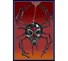 The Black Widow (Illustration)- Photographic Print