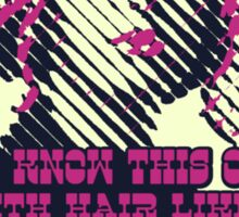 Ramona Flowers - Do you know this one girl with hair like this Sticker