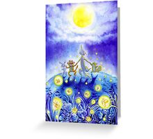 Dancing under the Moonlight Greeting Card