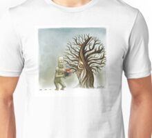 Yeti and the Sparrow Unisex T-Shirt