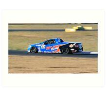 Queensland 400 - V8 Utes Art Print
