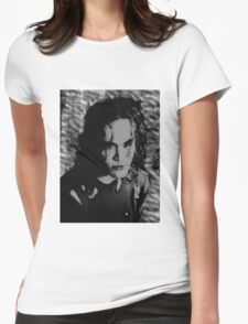 the crow Womens Fitted T-Shirt