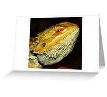 Colorful Face Greeting Card